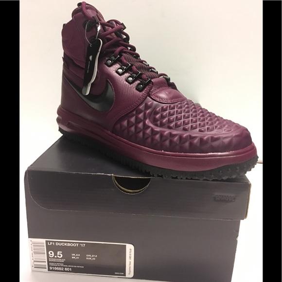 online store 00df8 8d959 Nike LF1 Lunar Force 1 Duckboot  17 Bordeaux Maroo